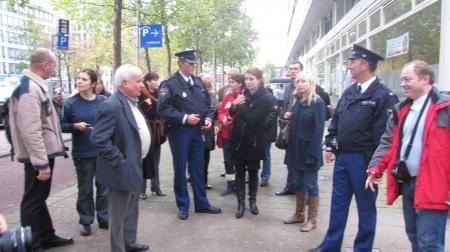 Police training visit in the Neterlands 2010